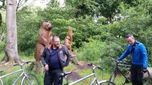 A Bear Behind.