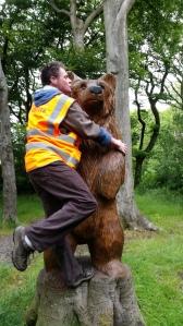 Huggy Bear!