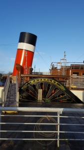 Full Steam Ahead to 2017! The Waverley as seen during one of our autism-friendly cycling group outings.